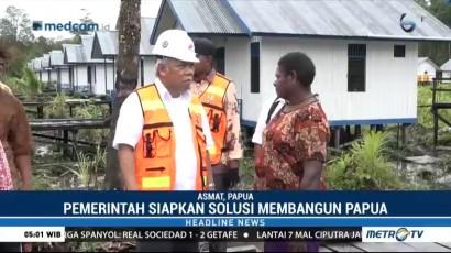 Pemerintah Fokus Bangun Infrastruktur di Kabupaten Asmat