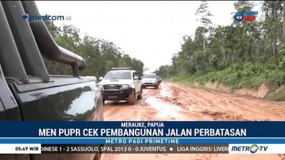 Menteri PUPR Cek Pembangunan Jalan Perbatasan Merauke-Boven Digul