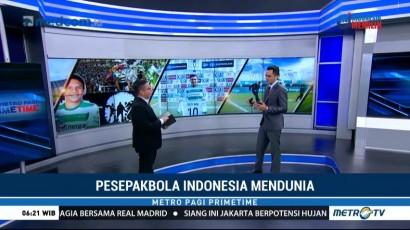Pesepakbola Indonesia Mendunia