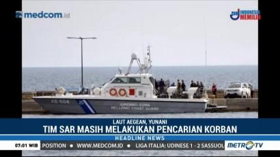 16 Imigran Tewas Tenggelam di Laut Yunani