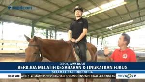 Berakhir Pekan Sambil Belajar Menunggang Kuda