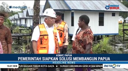 Pemerintah Siapkan Infrastruktur Air Bersih, Jembatan & Sanitasi di Papua