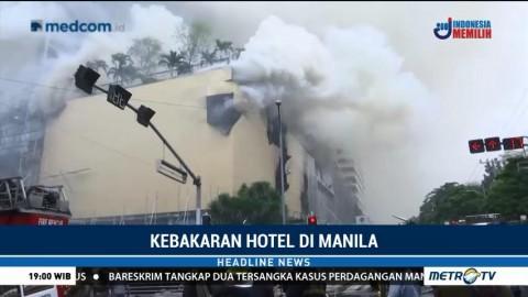 Kebakaran Hotel di Manila, Empat Orang Tewas