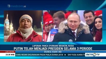 Delegasi Indonesia Ikut Pantau Pilpres Rusia