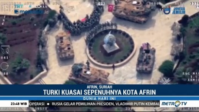 Koalisi Turki Kuasai Sepenuhnya Afrin