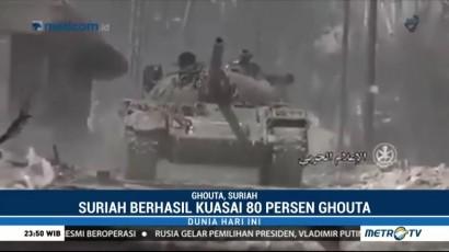 Suriah Kuasai 80% Wilayah Ghouta