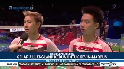 Kevin/Marcus Pertahankan Gelar Juara All England