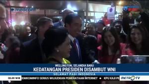 Jokowi Disambut Antusias WNI di Selandia Baru