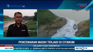 Masih Ada Perusahaan Nakal Buang Limbah ke Sungai Citarum
