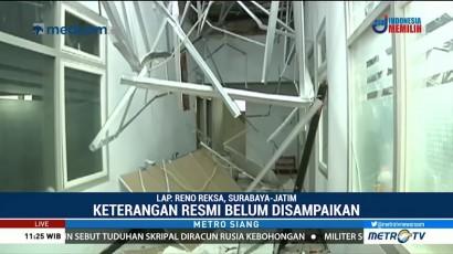 Atap Ambruk, Pihak RSAL Dr Ramelan akan Panggil Kontraktor
