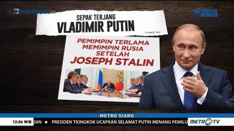 Sepak Terjang Vladimir Putin