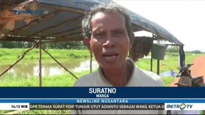 Korban Banjir di Tulang Bawang Minta Bantuan Pemerintah