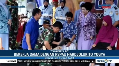 Media Group, Yayasan Kick Andy & RSPAU Gelar Bakti Sosial di Yogyakarta