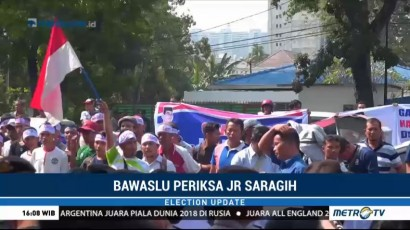 Pemeriksaan JR Saragih Diwarnai Demonstrasi