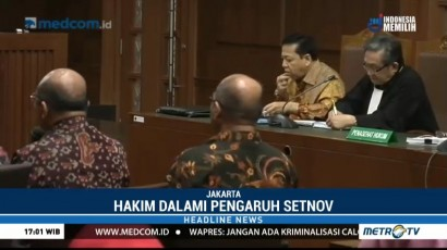 Dua Politisi Golkar Jadi Saksi Meringankan untuk Setya Novanto