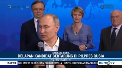 Putin Kantongi Suara di Atas 50%
