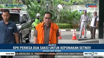 KPK Periksa Dua Saksi terkait Keponakan Novanto