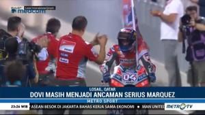 Andrea Dovizioso Rebut Podium MotoGP Qatar