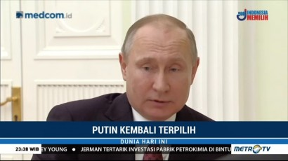 Vladimir Putin Terpilih Keempat Kalinya sebagai Presiden Rusia