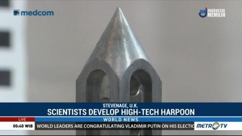 Scientist Develop High-tech Harpoon to Hunt Down Space Junk