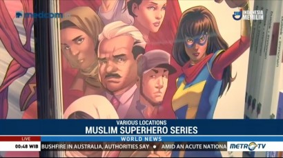 Muslim Superhero Series Highlights Immigrant Experience in America
