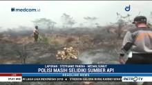 Polisi Selidiki Kebakaran Lahan di Mandailing Natal