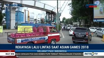 Polda Sumsel akan Terapkan Rekayasa Lalin Selama Asian Games