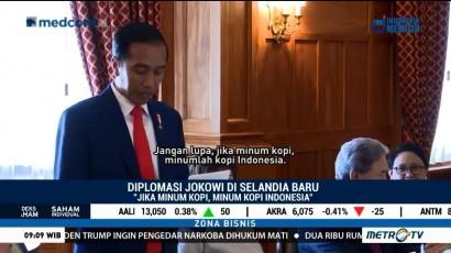 Ke Selandia Baru, Jokowi: Jangan Lupa, Minumlah Kopi Indonesia