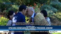 Jokowi Disambut Upacara Kenegaraan di Selandia Baru