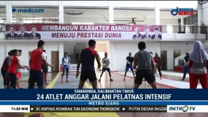 24 Atlet Anggar Jalani Pelatnas di Samarinda