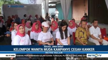 Wanita Muda Kampanye Cegah Kanker