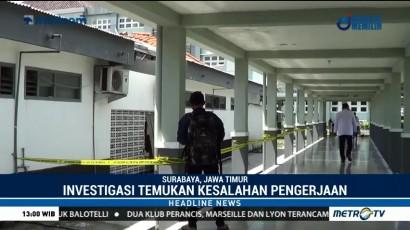 RSAL Surabaya Minta Kontraktor Tanggung Jawab atas Insiden Ambruknya Atap