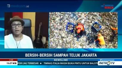 Bersih-bersih Sampah Teluk Jakarta (1)