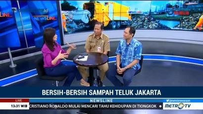 Bersih-bersih Sampah Teluk Jakarta (2)