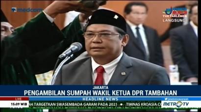 Utut Adianto Dilantik Sebagai Wakil Ketua DPR dari PDIP