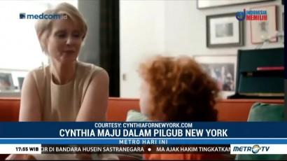Aktris Cynthia Nixon Maju ke Pilgub New York