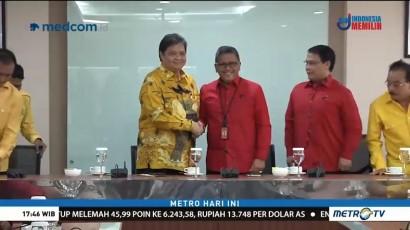 PDIP dan Golkar Makin Mesra Jelang Pilpres 2019