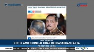 Menko Luhut Geram soal Kritik Amien Aries ke Jokowi