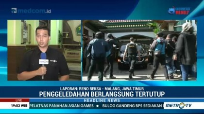KPK Geledah Rumah Wali Kota Malang Nonaktif