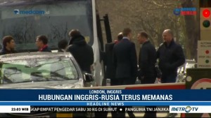 23 Diplomat Tinggalkan Kedutaan Besar Rusia di London