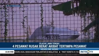 Pesawat Latih Jatuh di Cilacap, Seorang Pilot Tewas