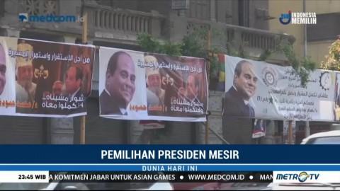 El Sissi Hampir Dipastikan Kembali Terpilih Jadi Presiden Mesir