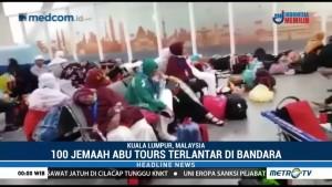 100 Jemaah Umrah Abu Tours Terlantar di Bandara Kuala Lumpur