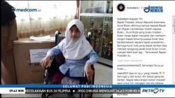 Jokowi Kabulkan Permintaan Kursi Roda dari Siswi Penyandang Disabilitas
