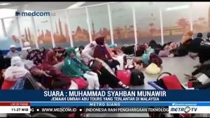 Terlantar di Malaysia, Jemaah Abu Tours Pulang Sendiri