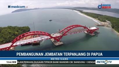 Pembangunan Jembatan Terpanjang di Papua Ditargetkan Rampung Juli 2018