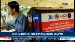 Mahasiswa di Makassar Ciptakan Motor Listrik Pengangkut Sampah