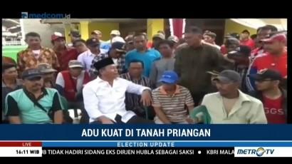 TB Hasanuddin Temui Petani, Deddy Mizwar Blusukan ke Pasar
