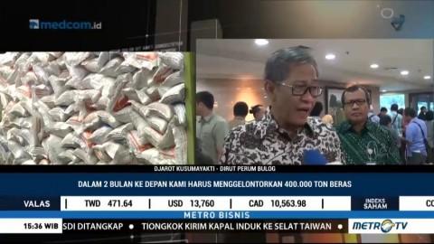 Bulog Gelontorkan 400 Ribu Ton Beras Jelang Puasa