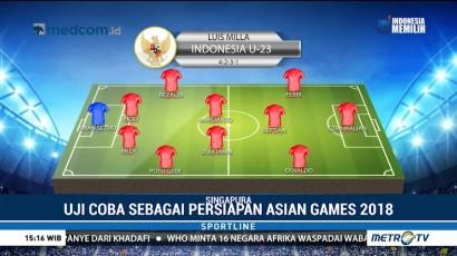 Timnas U-23 akan Hadapi Singapura Tanpa Evan Dimas